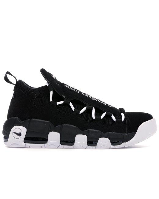 Nike Black Air More Money Shoes for men