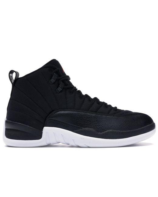 メンズ Nike 12 Retro Nylon Black