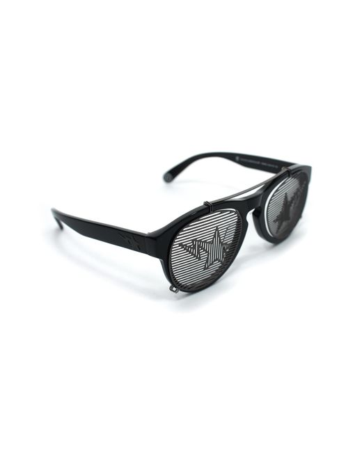 0b220825bb A Bathing Ape - Convertible Blinds   Shades Sta Sunglasses Black for Men -  Lyst