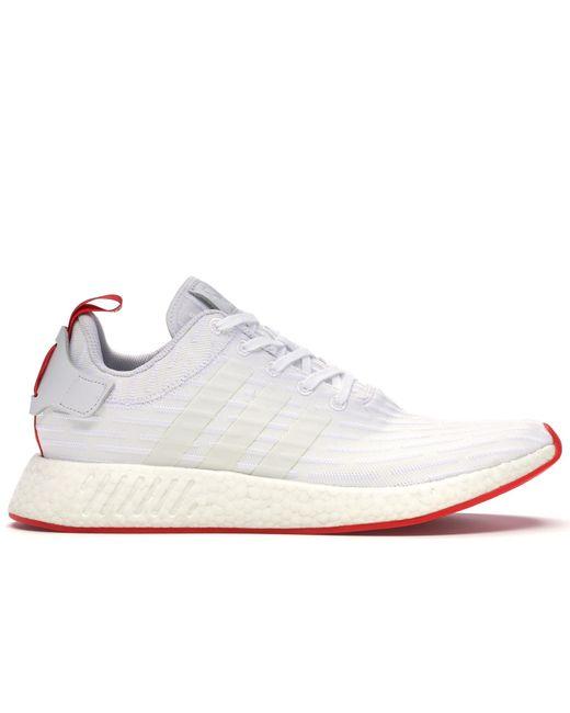 Adidas Nmd R2 White Black For Men Lyst