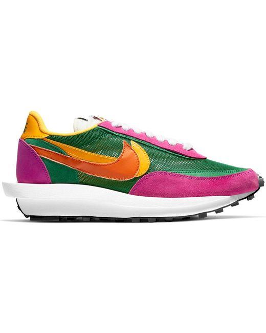 Nike Ld Waffle Sacai Pine Green for men