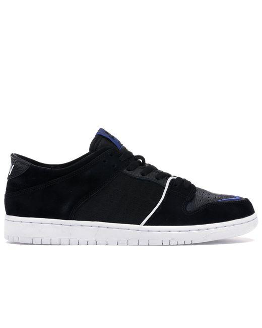 メンズ Nike Sb Dunk Low Soulland Fri.day Part 02 Black
