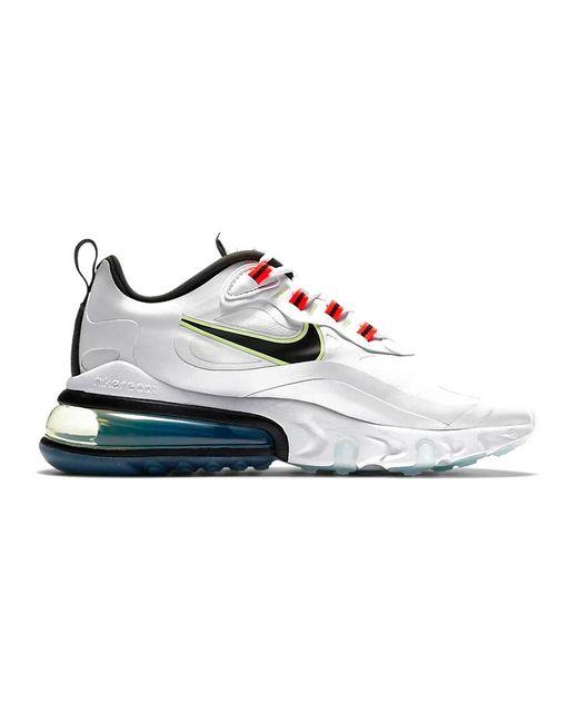 Nike Air Max 270 React White Crimson (w)