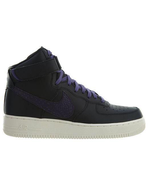 Nike Air Force 1 High Premium LE Black Black Sail,nike free
