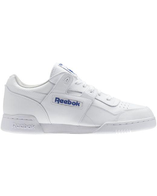 Reebok Workout Plus White Royal for men