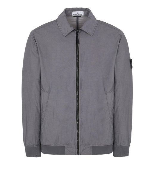 Little Splice London Souvenir Boys Tracksuit Zipped Top in Blue Grey