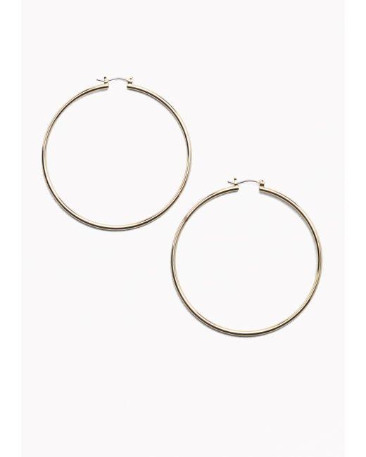 & Other Stories | Metallic Maxi Hoop Earrings | Lyst