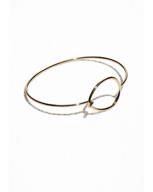 & Other Stories | Metallic Droplet Bracelet | Lyst