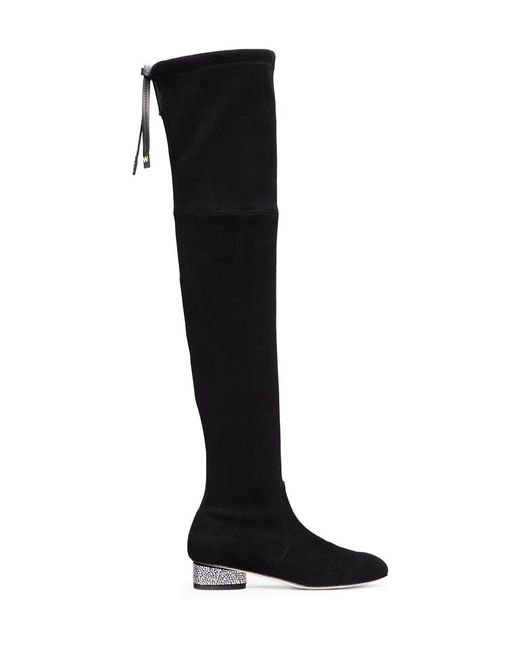 Stuart Weitzman - Black The Prism 30 Boot - Lyst