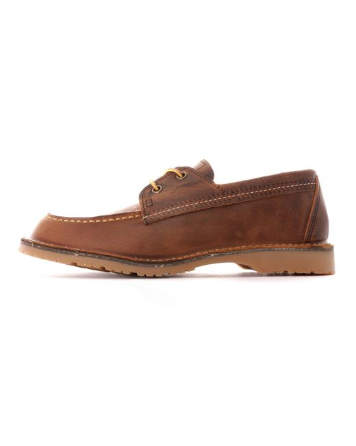 Red Wing Brown Wacoutta Camp Moc for men