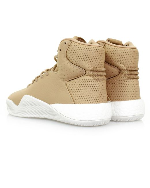 info for 4acee bb944 Men's Natural Adidas Tubular Instinct Boost Chalk White Beige Shoe