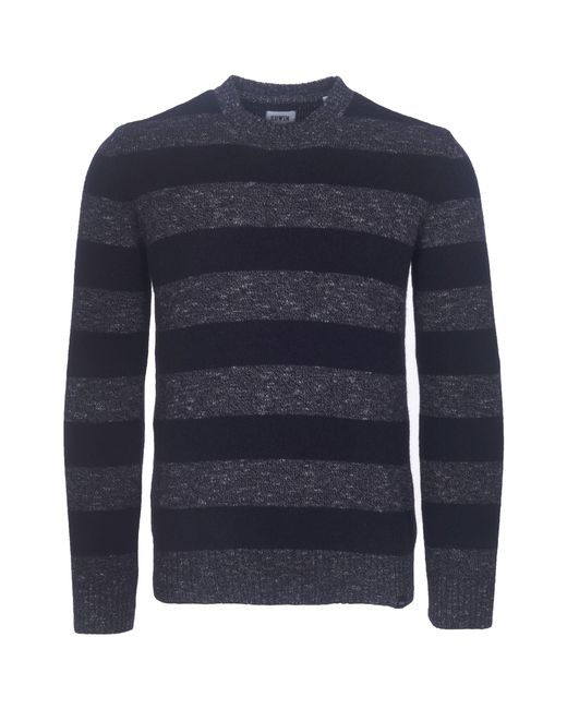 Edwin - Blue Navy Standard Stripes Jumper for Men - Lyst