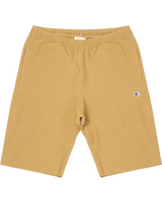 Champion - Metallic Gold Bermuda Shorts for Men - Lyst
