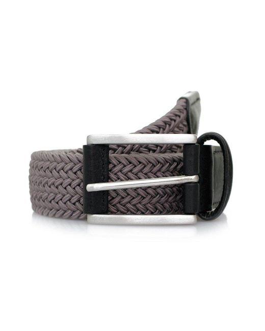 Andersons   Gray Anderson's Woven Grey Belt B0667 Ne37   Lyst