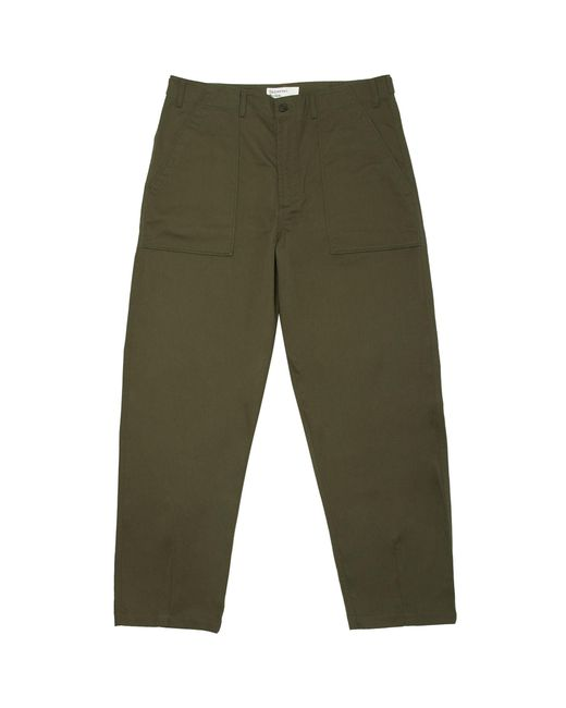 Universal Works - Green Olive Fatigue Chinos - Lyst