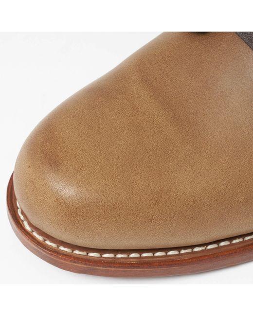 1d9a466d442 Men's 1000 Mile Oxford Natural Leather Shoes