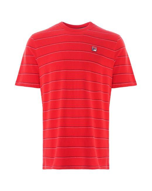Fila Fila Leon T-shirt Red Lm037822-622 for men