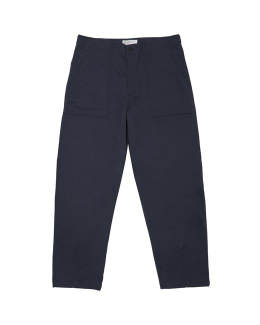 Universal Works - Blue Navy Fatigue Chinos for Men - Lyst