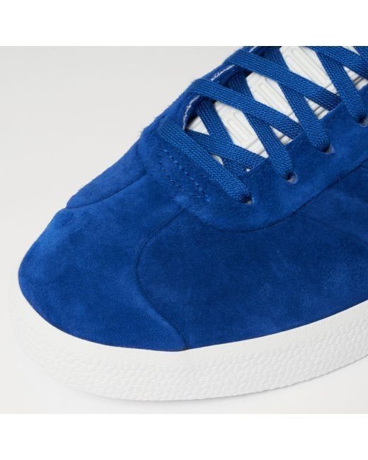 GAZELLE STITCH AND TURN - Sneaker low - collegiate royal/footwear white MD641i