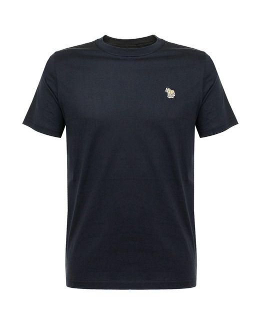 PS by Paul Smith | Blue Paul Smith Zebra Logo Navy T-shirt for Men | Lyst