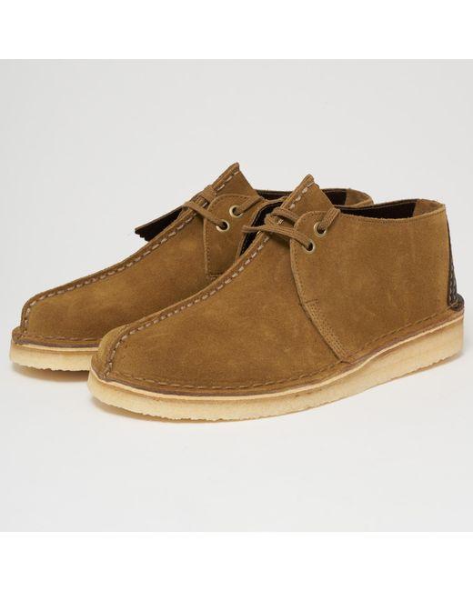 5233ab50035b8 Men's Green Desert Trek Suede Shoe - Olive