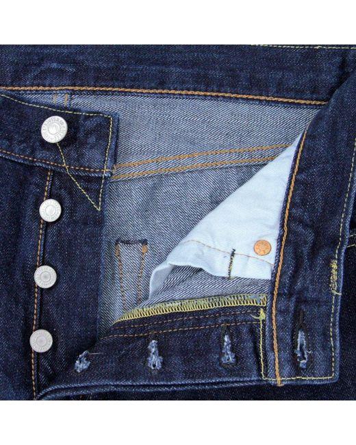 686ad24dfbd Levi's 501 Original Denim Jeans - Onewash in Blue for Men - Save 3 ...