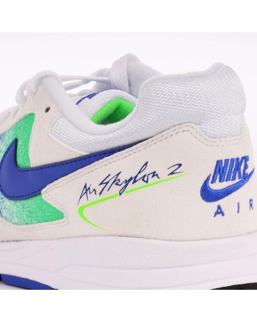reputable site 58951 a7b50 ... Nike - Air Skylon Ii - White, Hyper Royal   Green Strike for Men ...