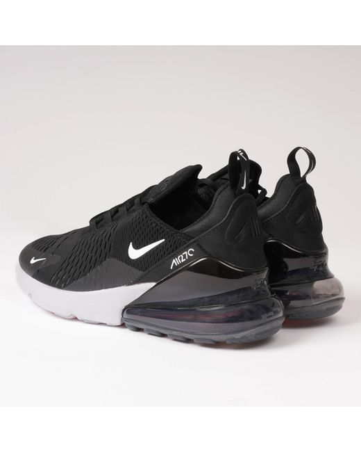 hot sale online 66952 805da ... Lyst Nike - Air Max 270 - Black, Anthracite  White for Men ...