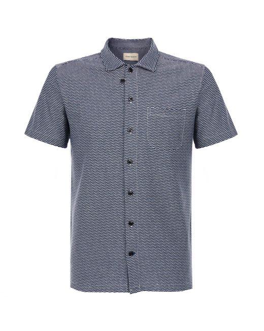 Oliver Spencer - Blue Hawaiian Henderson Navy Shirt for Men - Lyst