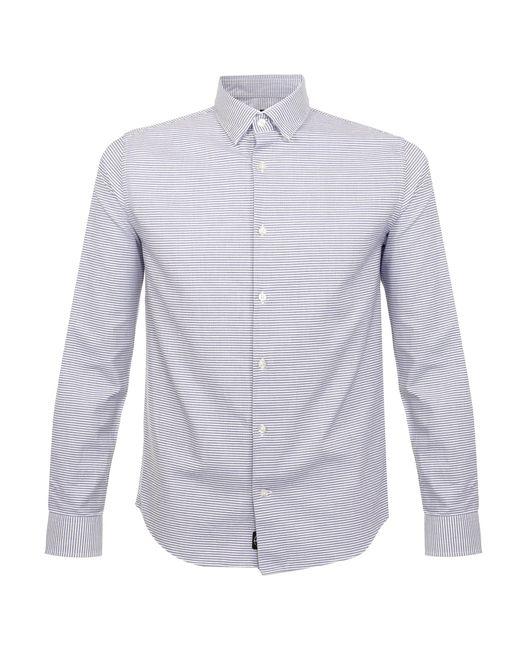 Matíníque | Trostol Striped Blue Shirt for Men | Lyst