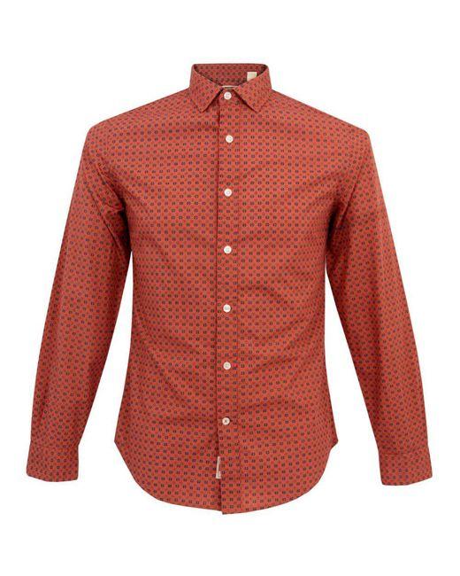 Dockers   Alpha Laundered Orange Shirt for Men   Lyst