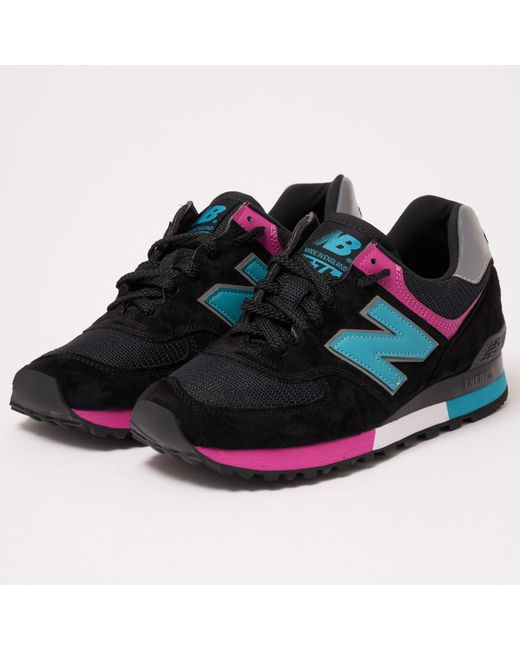 best sneakers cc118 81089 Men's Black New Balance 576 Made In Uk Shoes