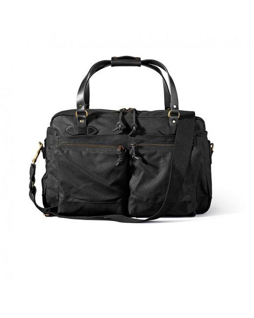Filson | 48 Hour Black Duffle Bag | Lyst