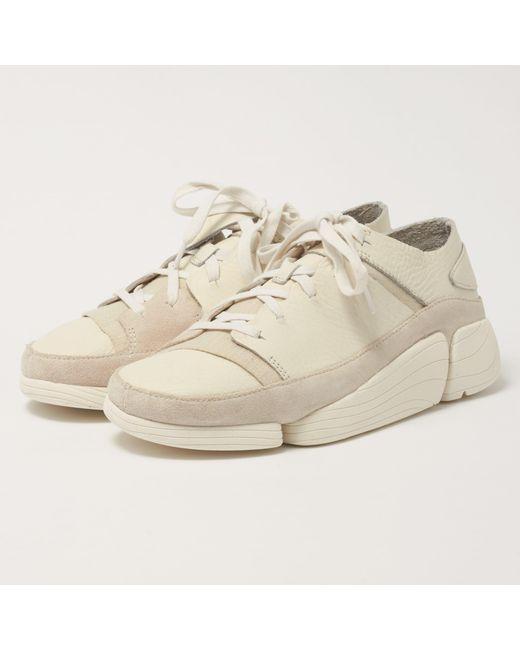 92265d871fc3 Lyst clarks trigenic evo shoes white leather in white for men jpg 520x650 White  leather clarks