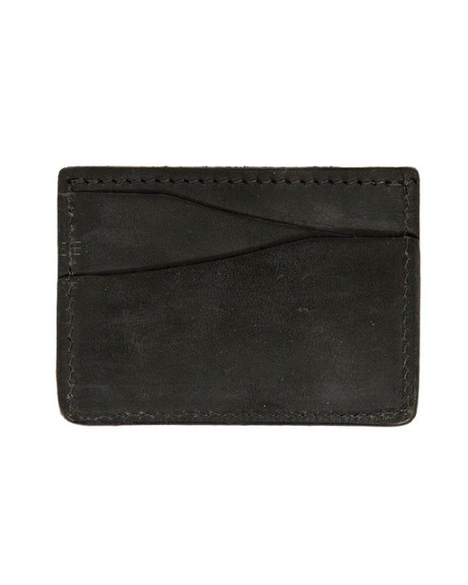Tanner Goods - Journeyman Black Card Holder for Men - Lyst