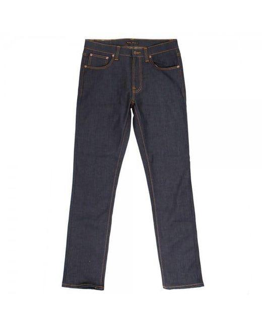 Nudie Jeans Blue Fearless Freddie Jeans - Loose Anti Fit for men