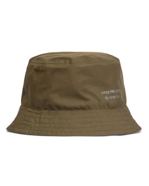 Norse Projects Green Gore - Tex Bucket Hat for men
