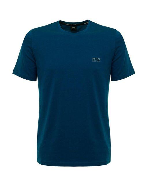 BOSS - Blue Turquoise Style Shirt Rn Short Sleeve for Men - Lyst