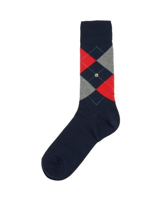 Burlington Blue Navy King Socks for men