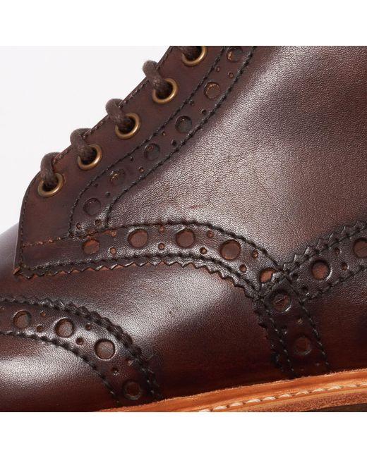e9aff0a8d6b Men's Fred Brogue Boot - Dark Brown
