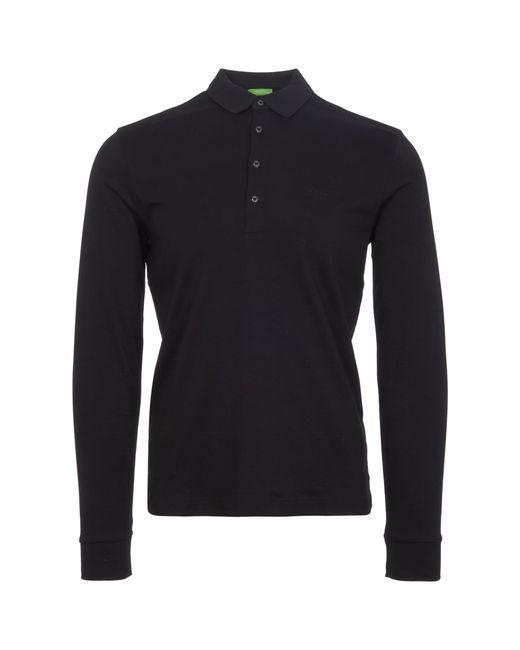 BOSS Green | Black C-paderna Polo Shirt for Men | Lyst