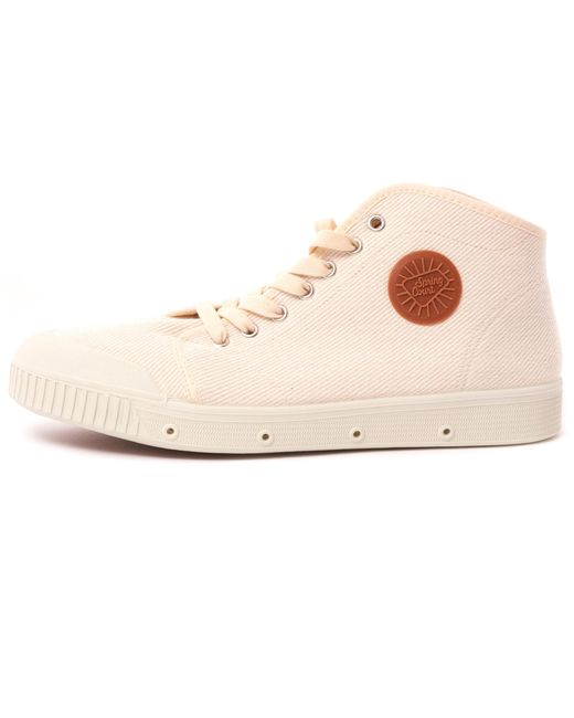 Spring Court Vintage B2 Cotton Twill Shoes - Off White for men