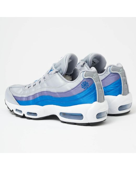 5a0d77f3691 Lyst - Nike Air Max 95 Se - Wolf Grey   Blue Nebula in Gray for Men
