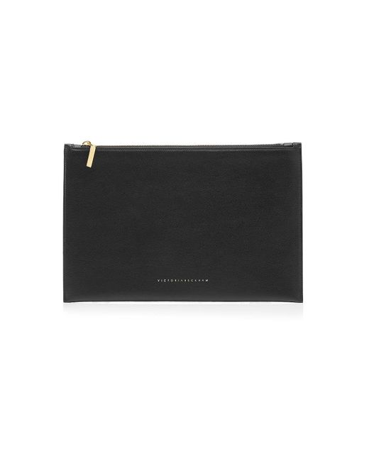 Victoria Beckham - Black Leather Pouch - Lyst