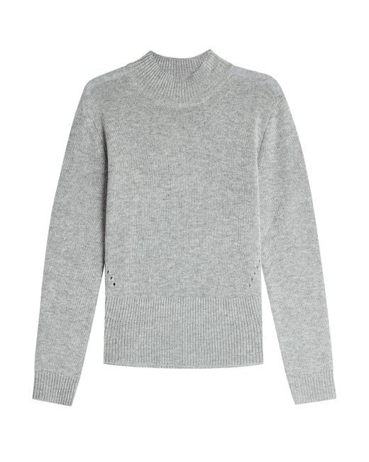81hours - Gray Pullover With Superfine Wool And Cashmere - Lyst
