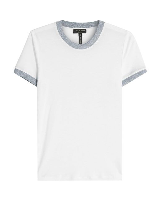 Rag & Bone - White Brighton T-shirt - Lyst