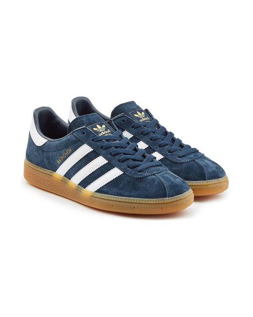 Adidas Originals | Blue Gazelle Suede Sneakers for Men | Lyst