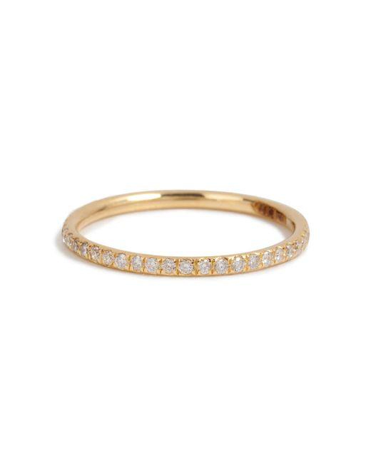 Ileana Makri | 18k Yellow Gold Ring With Diamonds | Lyst