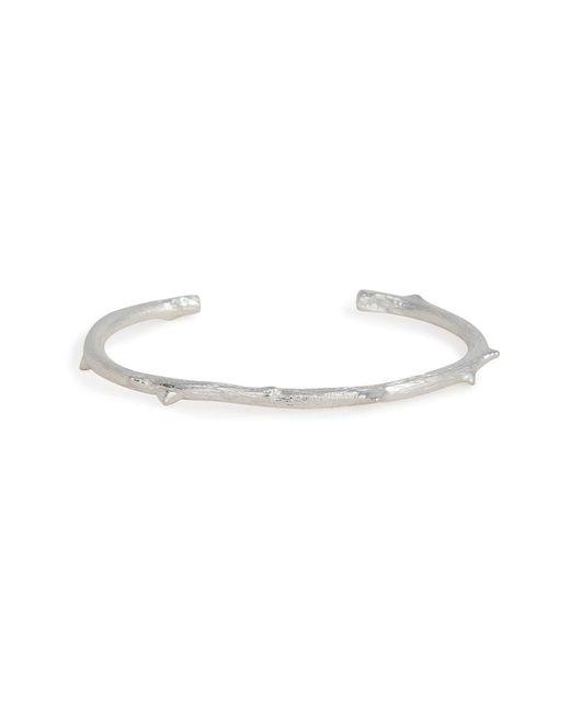 Aurelie Bidermann | Metallic Silver Rosebud Bracelet | Lyst