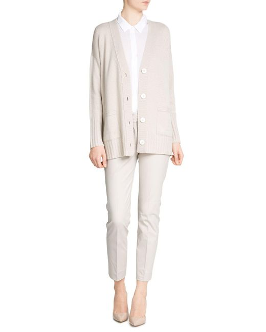 Splendid | White Tailored Blouse | Lyst
